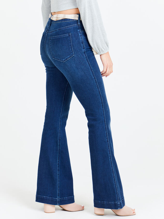 Maysen Flare Jeans Detail 3 - Altar'd State