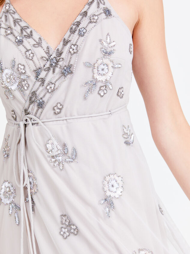 Grace Dress - Grey Detail 4 - Altar'd State