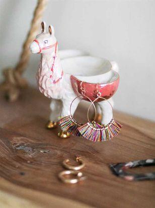 Standing Llama Trinket Dish - Altar'd State
