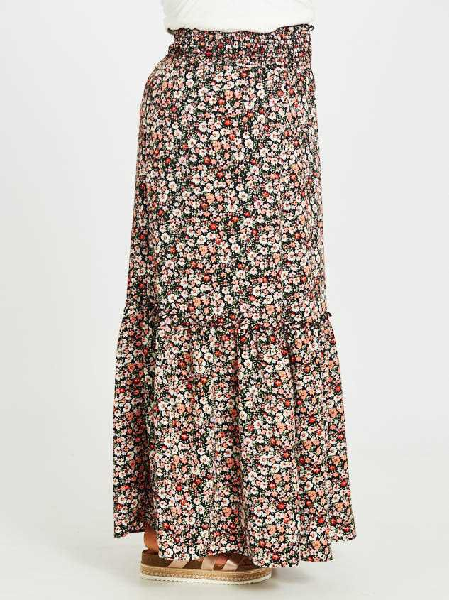 Blossoming Maxi Skirt Detail 3 - Altar'd State