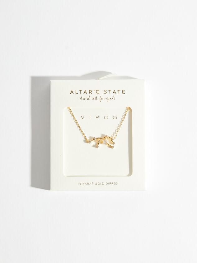 Zodiac Charm Necklace -Virgo Detail 3 - Altar'd State
