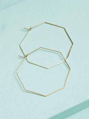 Eighth Wonder Hoop Earrings - Altar'd State