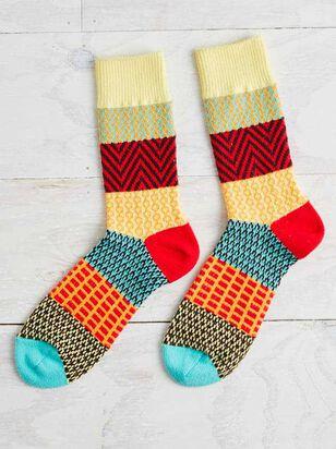 Fiesta Crew Socks - Altar'd State