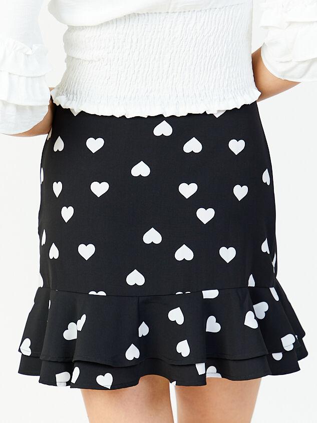 Karmen Hearts Skirt Detail 2 - Altar'd State