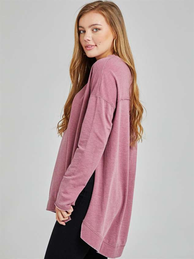 Weekender Tunic Top Detail 2 - Altar'd State