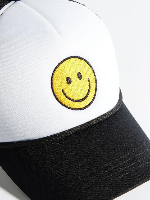Smiley Trucker Hat Detail 2 - Altar'd State