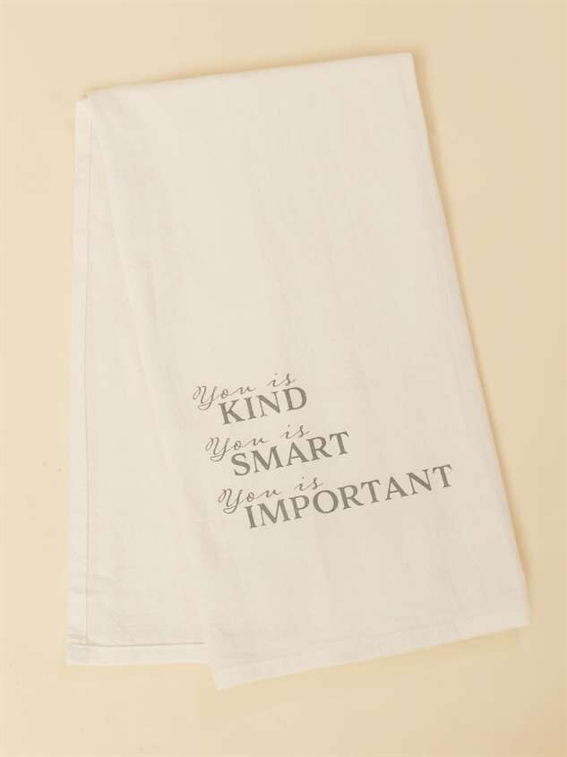 You is Kind Hand Towel - Altar'd State