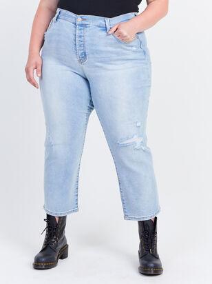 Crystal Beach Straight Jeans - Altar'd State