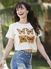 Open Mind Kind Heart Cropped Tee - Altar'd State