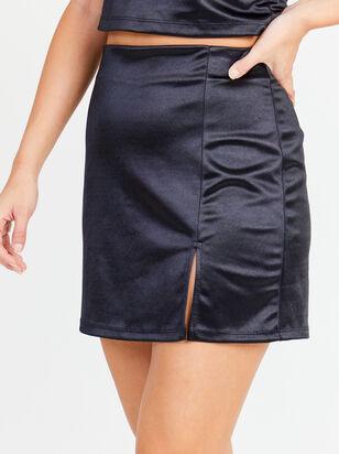 Lexa Satin Skirt - Altar'd State