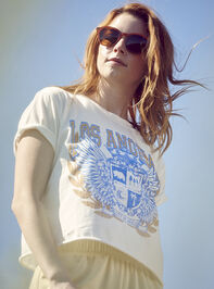 Los Angeles Cropped Tee - Altar'd State