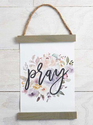 Pray Floral Banner - Altar'd State