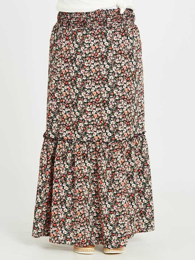 Blossoming Maxi Skirt Detail 2 - Altar'd State