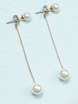 Pearl Drop Earrings - Altar'd State