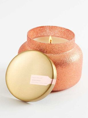 Peach Glam Jar Candle - Volcano Scent - Altar'd State