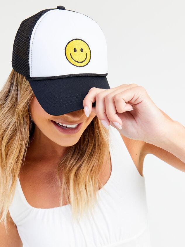 Smiley Trucker Hat Detail 3 - Altar'd State