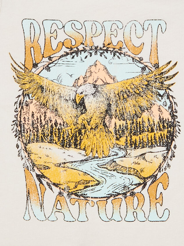 Tullabee Respect Nature Tee Detail 3 - Altar'd State