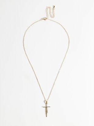 Faith Cross Necklace - Altar'd State