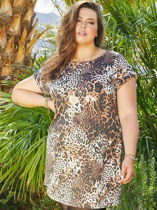 Lux Leopard Dress - Altar'd State