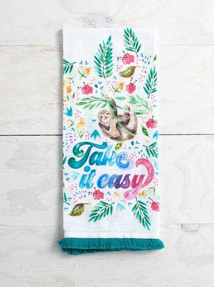 Take it Easy Hand Towel - Altar'd State
