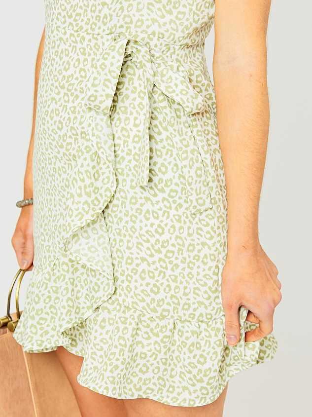 Talia Leopard Dress Detail 5 - Altar'd State