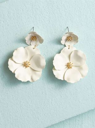 Flower Power Dangle Earrings - Altar'd State