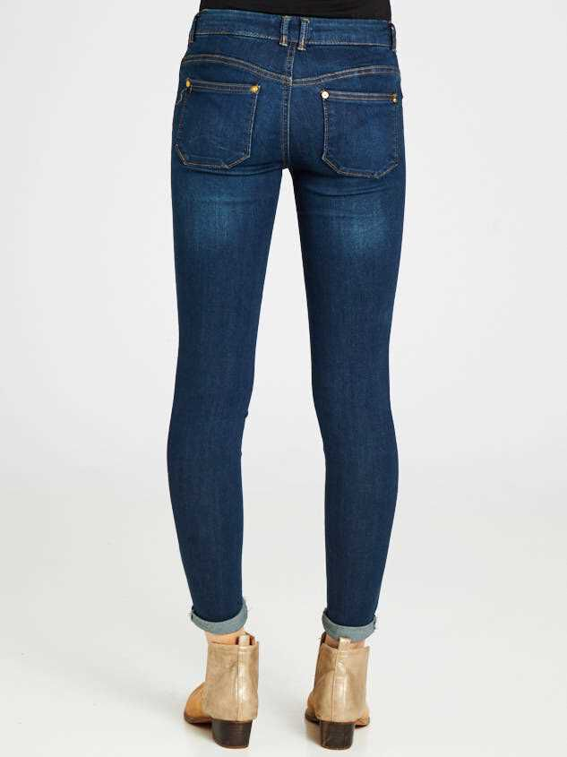 Roll Skinny Roll Jeans Detail 3 - Altar'd State