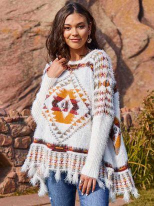 Lovely Lash Tribal Sweater - Altar'd State