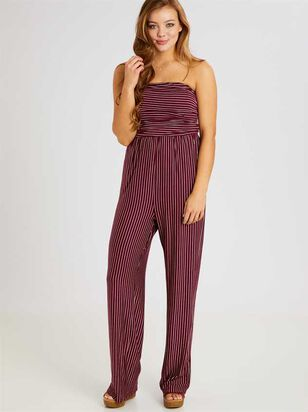 Gilson Jumpsuit – Striped - Altar'd State