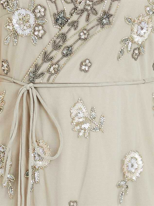 Grace Dress - Grey Detail 5 - Altar'd State