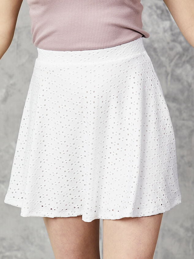 One & Only Eyelet Skirt - Altar'd State