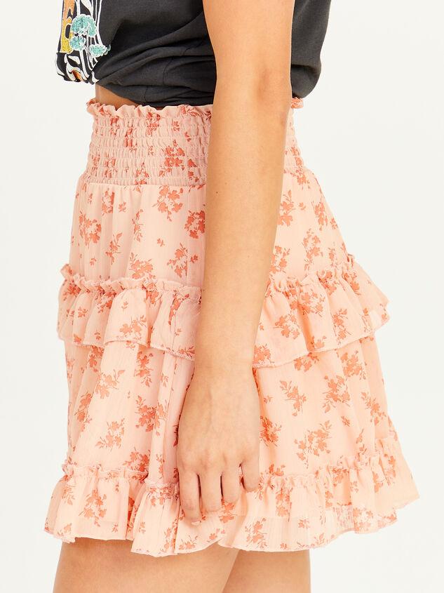 Peachy Skirt Detail 3 - Altar'd State