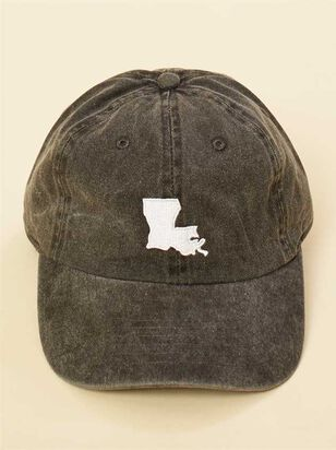 Our Home Canvas Baseball Hat - Louisiana - Altar'd State