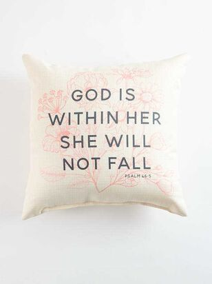 God is Within Her Pillow - Altar'd State