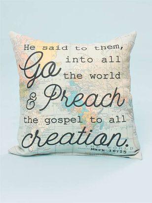 Mark 16:15 Pillow - Altar'd State