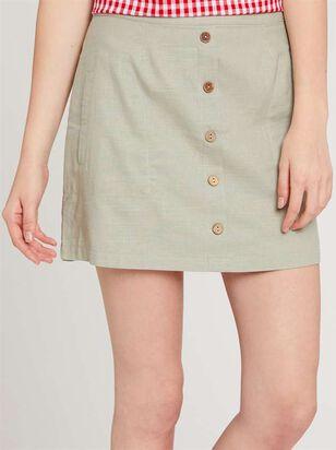 Perfect Linen Skirt - Altar'd State