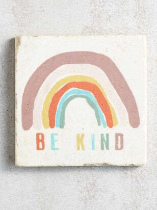 Be Kind Rainbow Coaster - Altar'd State