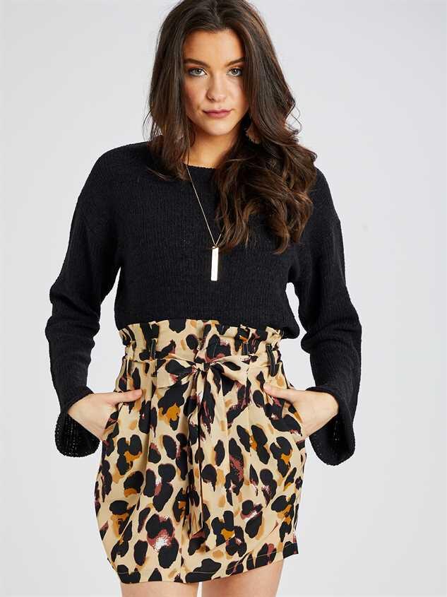 Leopard Skirt Detail 2 - Altar'd State