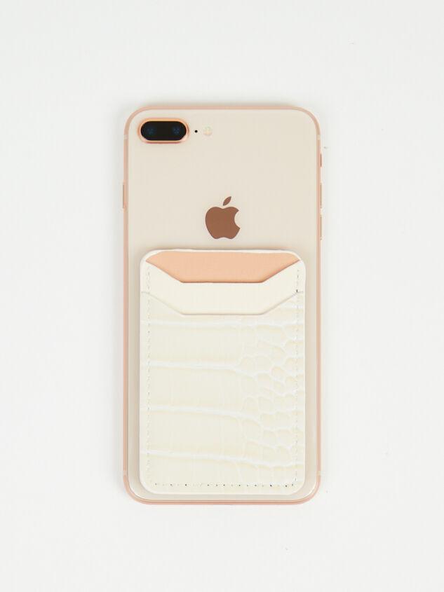 Stick On Phone Wallet - Natural Detail 1 - Altar'd State
