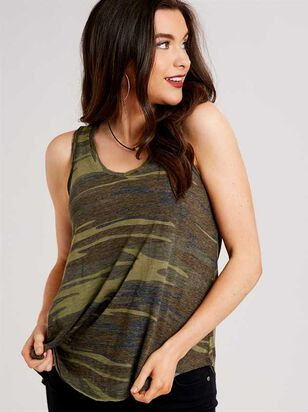Favorite Fit Camo Tank - Altar'd State