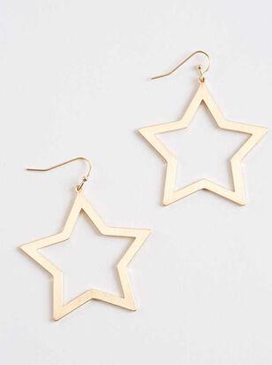Wide Open Stars Earrings - Altar'd State