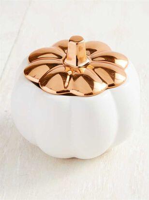 Ceramic Pumpkin Candle - Altar'd State