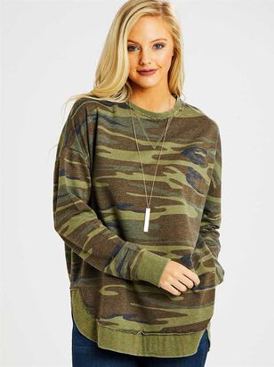 Camo Weekender Top - Altar'd State
