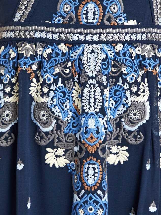 Corabeth Maxi Dress Detail 4 - Altar'd State