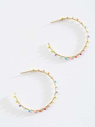 Sunset Hoop Earrings - Altar'd State