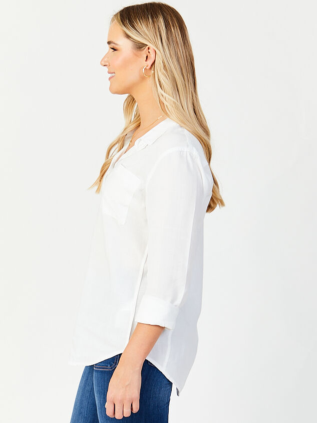 Josephina Button Up Top Detail 2 - Altar'd State