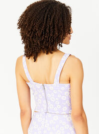 Simply Lovely Cropped Tank - Purple Detail 2 - Altar'd State