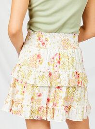 Cara Floral Skirt Detail 2 - Altar'd State