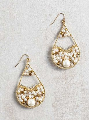 Pearl Filled Earrings - Altar'd State