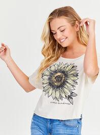 Choose Kindness Sunflower Top Detail 2 - Altar'd State